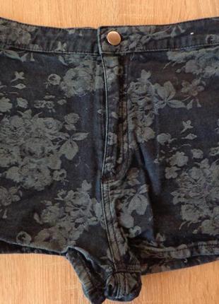 Шикарные шорты с завышенной талией