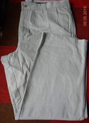 Натуральные хлопковые брюки чинос