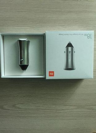 Автомобильное зарядное устройство в прикуриватель Xiaomi