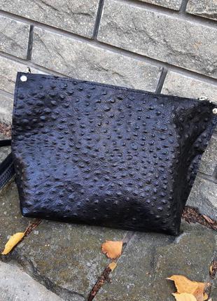 Кожаная женская сумочка из натуральной кожи