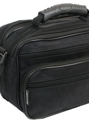 Мужская компактная сумка, барсетка Wallaby 21231 черная