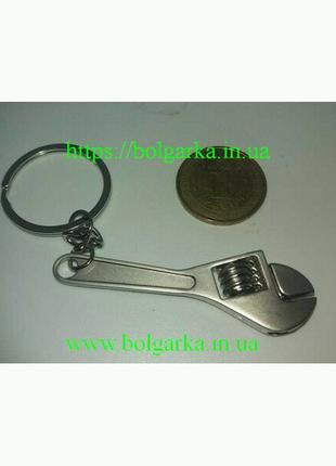 Брелок разводной ключ