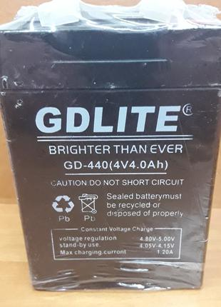 Аккумулятор GDLITE 4V 4.0Ah