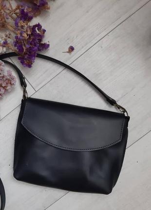 Женская кожаная сумка сумочка через плечо