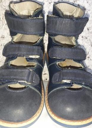 Ортопедические босоножки с закрытым носком детские