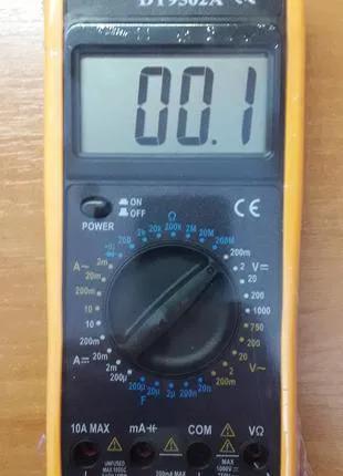 Мультиметр тестер DT 9502A