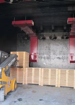 Сушильные камеры JUVENAL (сушилки для древесины и дров)