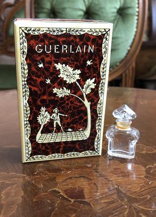 Guerlain коробочка и флакончик