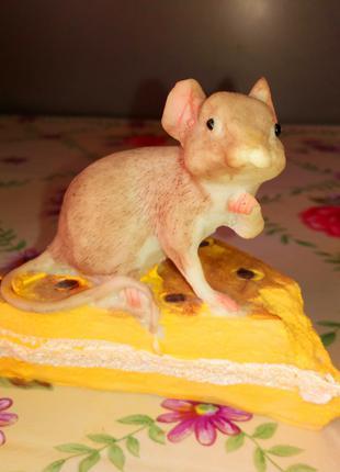 Статуэтка Мышь.Подарок родившимся в год Мыши.