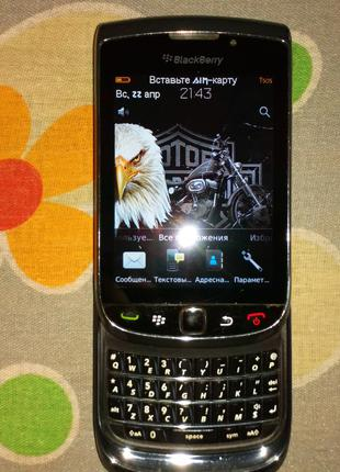 Смартфон BlackBerry Torch 9800.Made in Mexico.