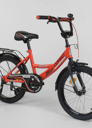 Двухколесный детский велосипед 18 дюймов CL-18 R 6030 красный