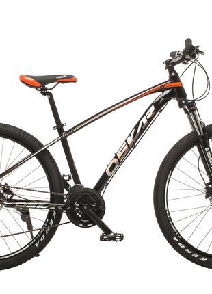 """Велосипед Oskar 27,5"""" Sporta серый и черный цвет"""
