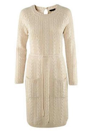 Вязаное платье - свитер