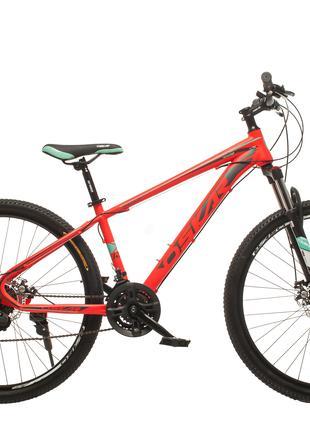 """Велосипед Oskar 27,5""""1857 серый и красный цвета"""