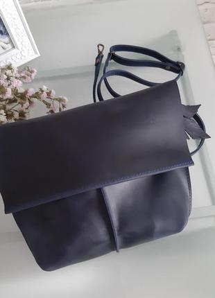 Кожаная сумочка женская сумка клатч