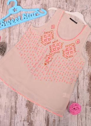 Блуза с декором atm