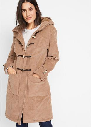 Пальто из вельвета, на меховой подкладке.bpc collection. Германия