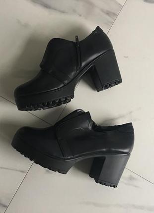 Ботильоны черные