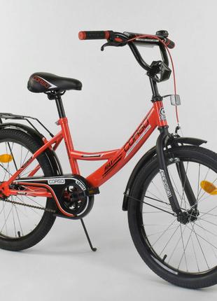 Двухколесный велосипед 20 дюймов CL-20 Y 2488 красный