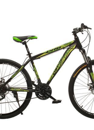 """Велосипед Oskar 26""""M123 черно-зеленый"""