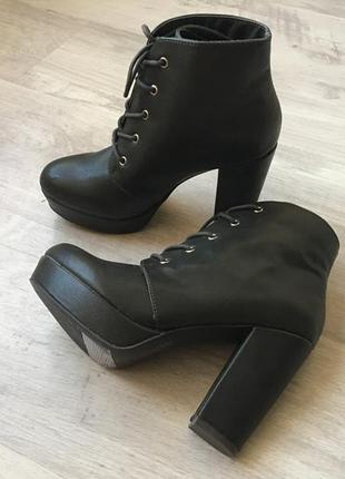 Ботинки forever21 оливковые