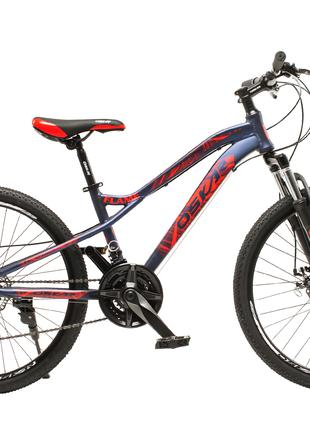 "Велосипед Oskar 24""FLAME серый"