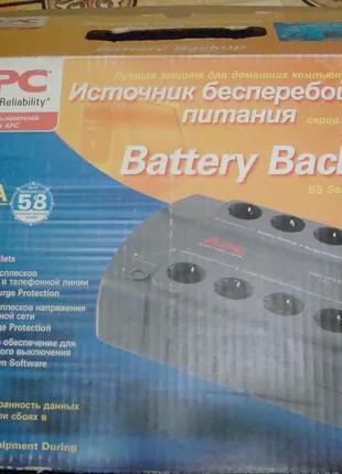 Источник бесперебойного питания (ИБП) APC Back-UPS CS 700VA (BE70