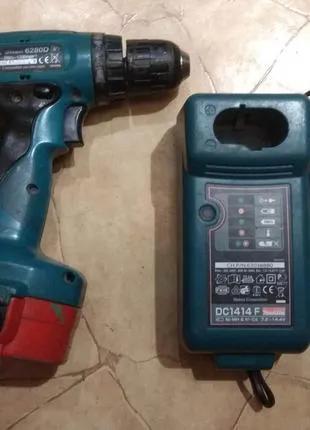 Шуруповерт Makita Макита 6280D 14,4В аккумуляторный