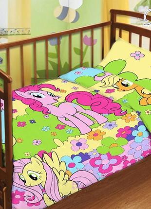 Детский  комплект постельного белья (3 вида)