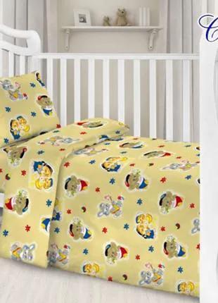 Детский комплект постельного белья (7 видов)