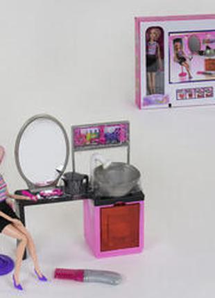 Игровой набор Салон красоты с куклой 68211