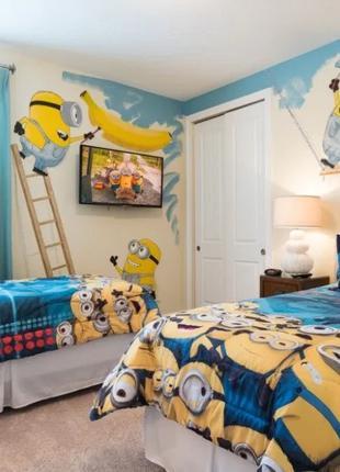 Декорирование Детской комнаты. Интерьерный декор стен (Киев)