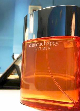 Clinique Happy For Men_Оригинал EDT_5 мл затест туал.вода