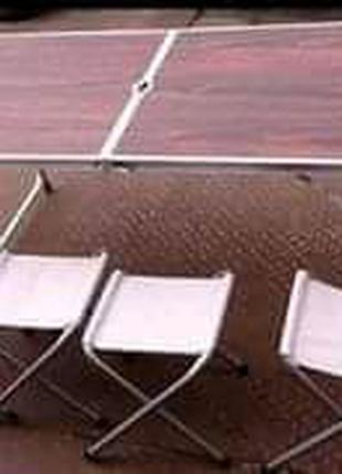 Стол для пикника + 4стульчика