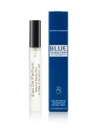 Мужской мини-парфюм в ручке Antonio Banderas Blue Seduction - 10