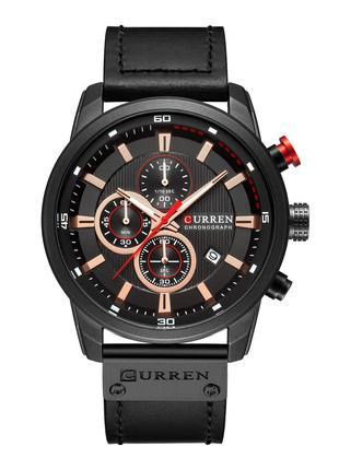 Мужские Наручные Часы Curren 8291 Black