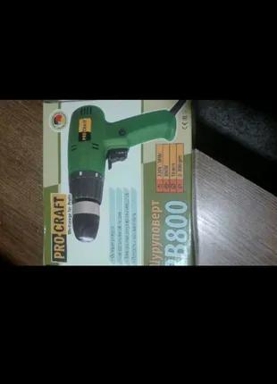Сетевой шуруповерт PROCRAFT  PB 800