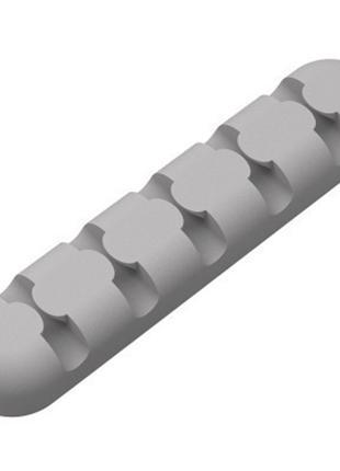 Органайзер держатель провода Orico на 5 каналов серый
