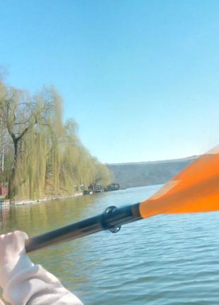 Байдарки каяк катамарани сплави річкою Серет