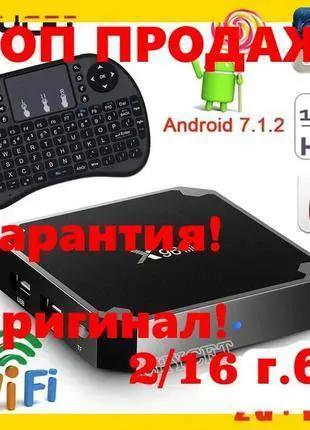 Смарт тв приставка X96 mini 2/16 Android smart tv box, X96,Mi box