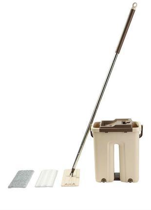 Комплект для уборки «Триумф», Чудо-швабра с отжимом и ведром