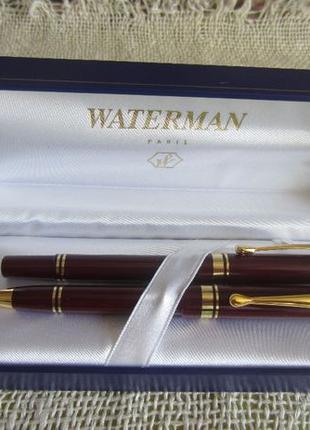 Подарочный набор ручек в коробке Waterman