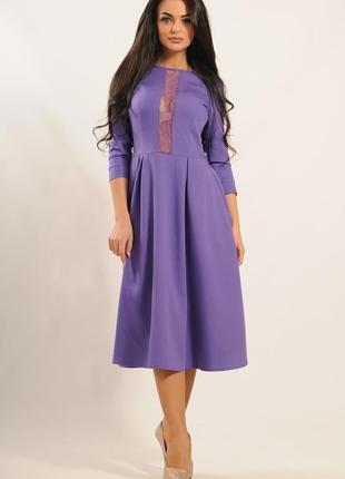 """Платье """"джулия"""" фиолетовый"""