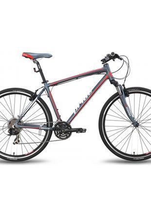 "Велосипед гибридный 28'' PRIDE CROSS 1.0  рама - 19"""