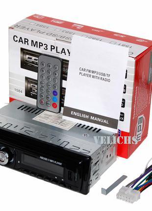 Автомагнитола 1DIN USB/SD/FM/AUX 1584
