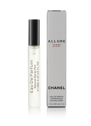 Мужской парфюм спрей в ручке Allure homme Sport - 10 мл Д-10