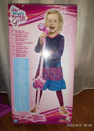 Микрофон Simba для девочек