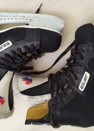 Коньки Nike Bauer 41 размер Italy 26 см