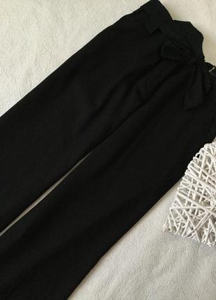 Широкие льняные брюки с поясом atmospher размер 16