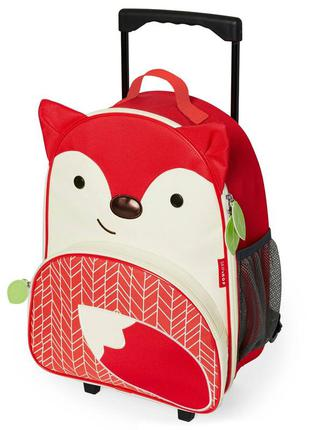 Чемодан детский skip hop валіза дитяча zoo лисичка сша